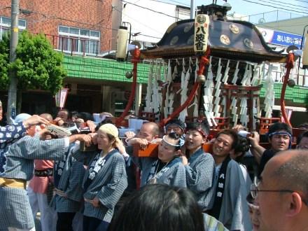 酒田祭り神輿