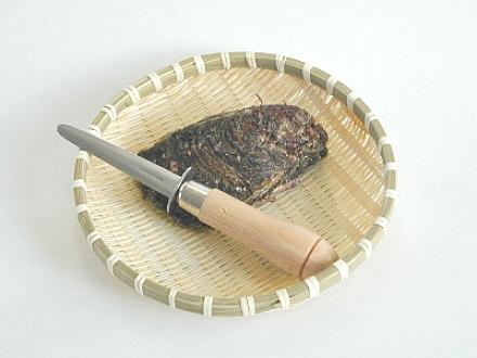 天然岩牡蠣とカキむきナイフ