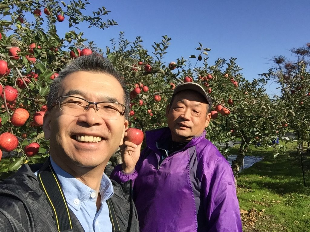 ふじりんご生産農家小座間さん